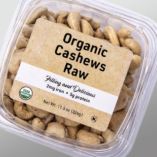 Cashews in Tub